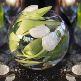 Boule de Tulipes ou Arums